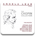 Angela Lear - The Chopin Collection Volume 5