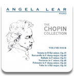 Angela Lear - The Chopin Collection Volume 4